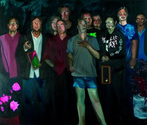 Evil Boys, oil on canvas, 180x210cm, 2008