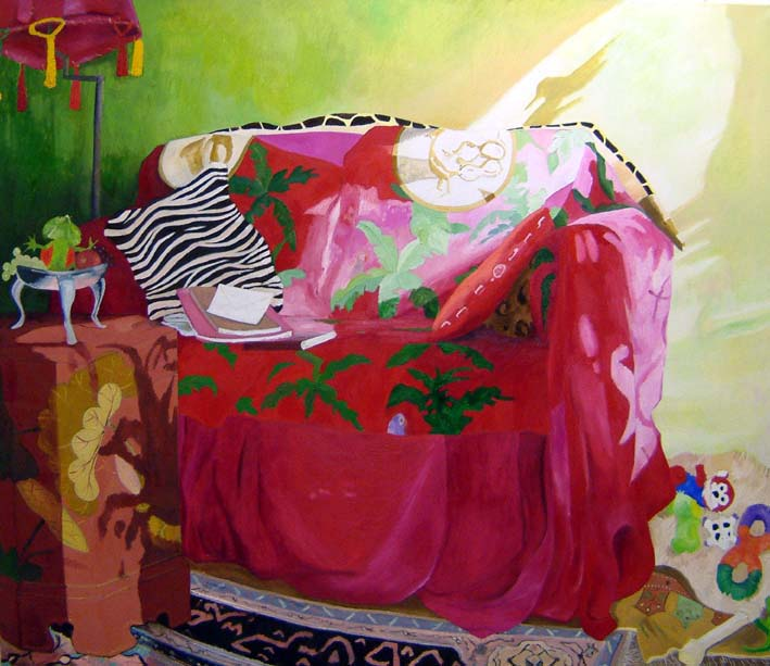 La Isla Bonita, oil on canvas, 180x210cm,2004