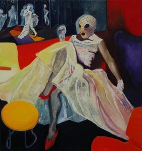 Plastic Lounge, oil on canvas, 60x45cm, 2005