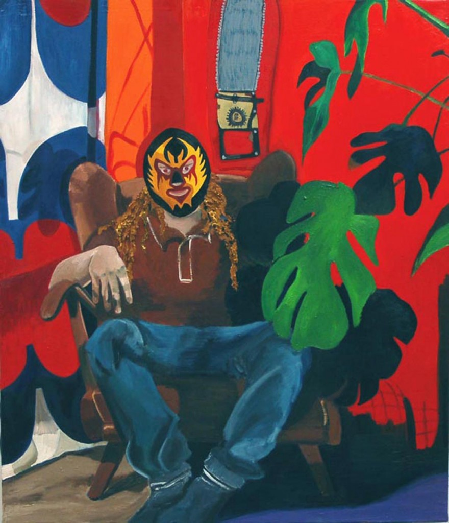 Rööperi Lucha, oil on canvas, 120x100cm, 2005
