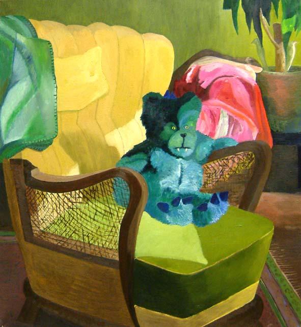 Mörkö, oil on canvas, 120x100cm, 2004 (valtion taidekokoelmat)